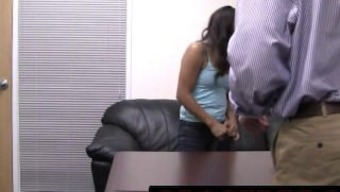 Backroom Casting Couch Janelle