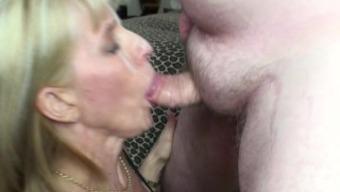 Sucking And Swallowing An Eagar Fan