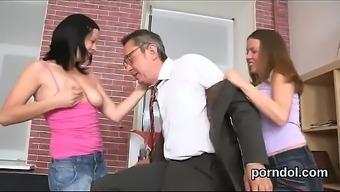 Innocent College Girl Is Seduced And Screwed By Her Older Schoolteacher