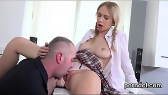 Lovely Bookworm Is Tempted And Screwed By Her Elderly Tutor