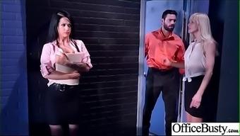Big Melon Tits Girl (Katrina Jade) Love Hardcore Sex In Office Video-12