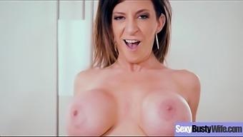 Hardcore Intercorse With Big Juggs Hot Sexy Wife (Sara Jay) Vid-29