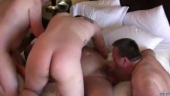 Hairy And Raw - Group Fuck