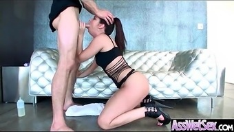 Big Oiled Ass Hot Girl (Brittany Shae) Like And Enjoy Deep Anal Sex Mov-18