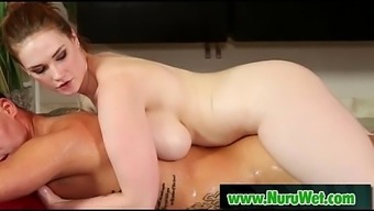 Gorgeous Jappanese Masseuse Gives Sensual Nuru Massage 12