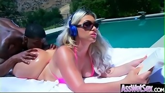 Big Butt Girl (Assh Lee) Get Oiled And Deep Anal Nailed On Cam Video-09