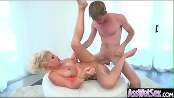 (Savana Styles) Sexy Horny Girl With Huge Ass Love Anal Sex Movie-29