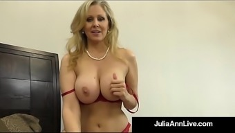 Hot Classy Milf Julia Ann Takes A Cock In Her Mouth &Amp_ Hands!