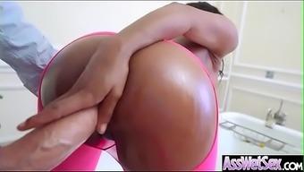 Big Butt Girl (Kiki Minaj) Get Oiled And Deep Anal Nailed On Cam Video-21