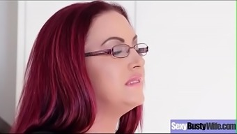 (Emma Butt) Sexy Busty Wife Love Hardcore Action Sex  Movie-12