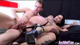 Anal Hardcore Sex Tape With Slut Big Curvy Ass Girl (Dollie Darko) Vid-18
