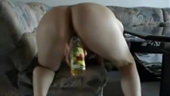 Amateur German Teen Fucks Bottle On Webcam - More Videos On Www.Amateurcams.Cf