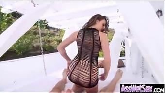 Hard Anal Deep Bang With Big Wet Curvy Butt Naughty Girl (Chanel Preston) Mov-10