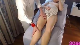 Hidden Cam At Massage Parlour Anal Play