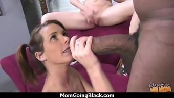Watching A Sexy Milf Going Interracial 24