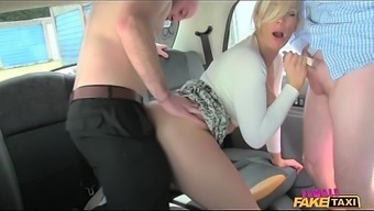Female Fake Taxi Salesmen Have An Unforgettable Ride