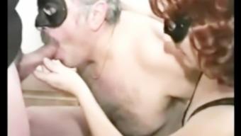 Italian Mature Bisexual Couple Homemade Hardcore Fuck Orgy Party