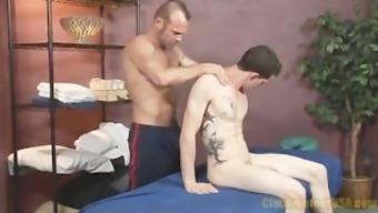 One Hard Cock Massage