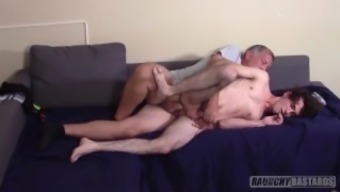 Teenage Skater Gets Fucked Raw On Casting Couch Loves It So Much He Nuts