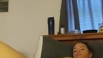 Mom Uses Toys To Squirt While Daddy Is At Work!!!! Real Orgasm!