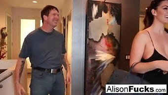 Busty Alison Tyler Meets Her Catfish Then Fucks His Friend