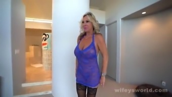 Big Titty Milf Gets Drilled And Swallows A Bbc
