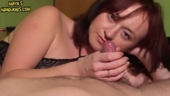Edging His Cock And 2 Cumshots In A Row