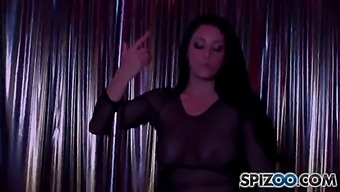 The Stripperexperience - Noelle Easton Fucking A Big Dick, Big Booty & Big Boobs