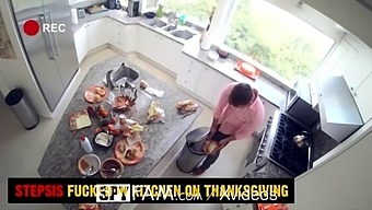 Spyfam Step Sis Fucked In The Kitchen On Thanksgiving