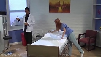 Perverse Doctor Fucks His Dirty Little Nurse Co-Ed Marie Mcray And Cums On Her Pussy