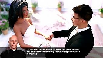 Lucky Mark. The Wedding Night