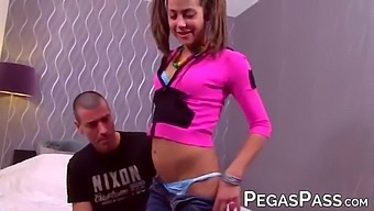 Pigtails Heidi Spreads Legs For Mature Cock And Cumshot