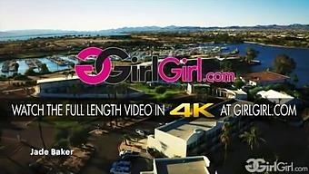 Girlgirl.Com - Raising The Stakes Jade Baker Cheats On Her Girlfriend With Hotel Maid Vina Sky