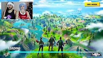 Omankovivi As Rem Re:Zero Commentating First Time Playing Fortnite Xmas