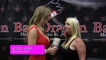 Tanya Tate Asks Pornstars About Christmas Presents