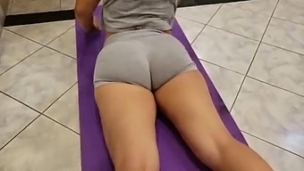 Fit Teen Creampie After Training