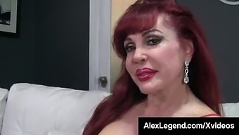 Almost Granny Sexy Vanessa Pounded By Fat Cock Alex Legend!