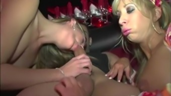 Backside Big Tit Groupie Tandem Fucked On Tour Bus