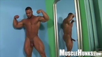 Complilations - Flexing With Full Erections
