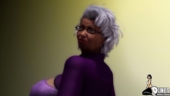 Thick Booty Ebony Granny Rides Her Neightbors Cock/ Latin Wife Blackmailed By Bbc
