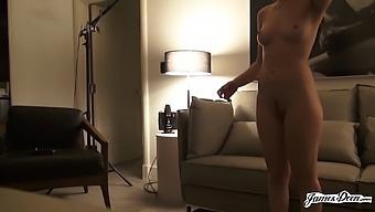 Joseline Kelly Sticks Around To Get Hard Anal Action After Her Scene