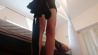 My New Nylon Tights Are Really Thin And Transparent ... Ideal To Show You..