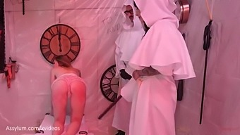 Hot Submissive Masochist Cries While Sucking Cock And Getting Brutally Beaten In Extreme Ganbang