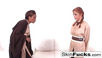 Sexy Skin Teaches New Recruit Penny Pax The Fuck