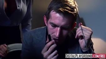 Digitalplayground - Fly Girls Final Payload Scene 3 (Aletta Ocean, Jai James, Luke Hardy)