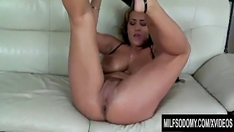 Big Tits Milf Trina Michaels Rubs Her Pierced Pussy As Her Ass Gets Pounded