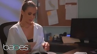 Sexy Secretary (Paige Owens) Pounded Hard By Her Boss - Babes