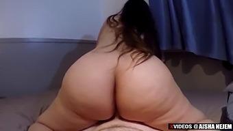 Bubble Butt Latina Aisha Nejem Horny As Fuck For White Boyfriends Dick Vid-13