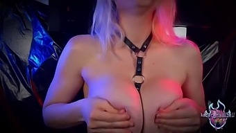 Whore In Straps Goes Crazy With Orgasms And Explodes Squirts While Anal Masturbation