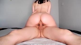 Sexy Ass Babe Riding My Cock